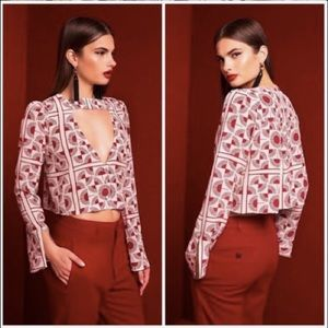 Stone cold fox Ono crop top size 0